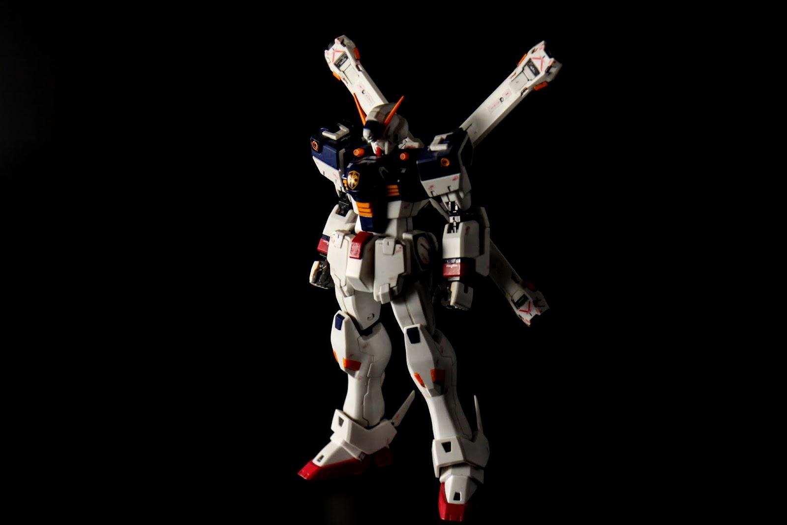 真實編號為F-97的CrossBone Gundam