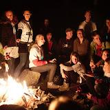 Závěrečné setkání organizátorů akce u ohně. Díky všem za pomoc!