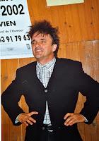 Conférence de presse 2002, animation, Pierre Aucaigne 03, Cuillé