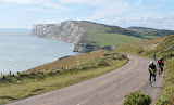 Compton Bay and Tennyson Down on the Isle of Wight