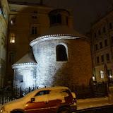 Románský Kostel sv. Kříže Menšího na Starém Městě