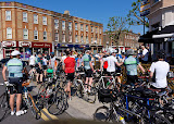The start of the Suburban Breakout Audax 2013