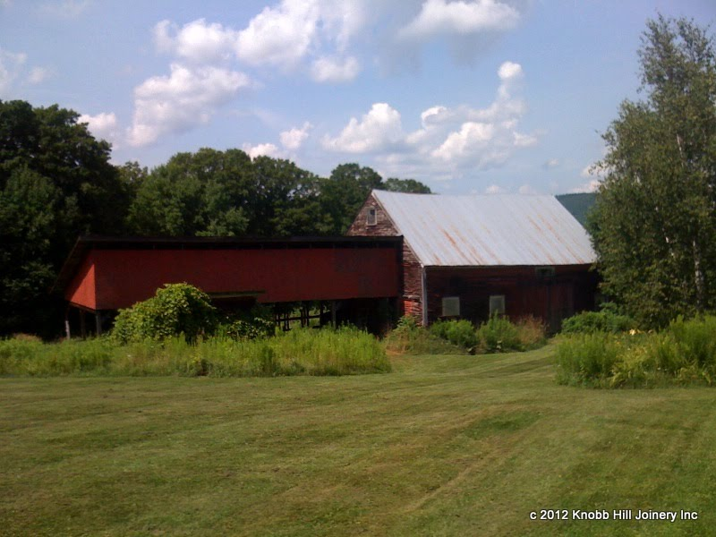 The barn as we first saw it.
