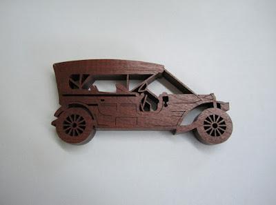 1909 Welch Touring by Rick & Karen Longabaugh BLACK WALNUT