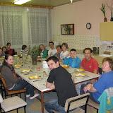 A na závěr dne slavnostní večeře
