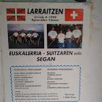 1998 Euskal Herria eta Suitzaren arteko desafioa