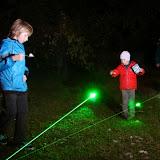 Říjen - laserové pavučiny