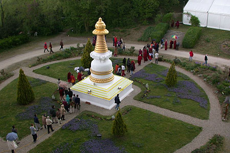 Stupa at Institut Vajra Yogini, France.