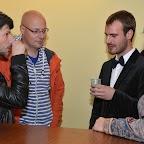 Cyril BRON et David FUEHRER (les deux réalisateurs) lors du verre de l'amitié!