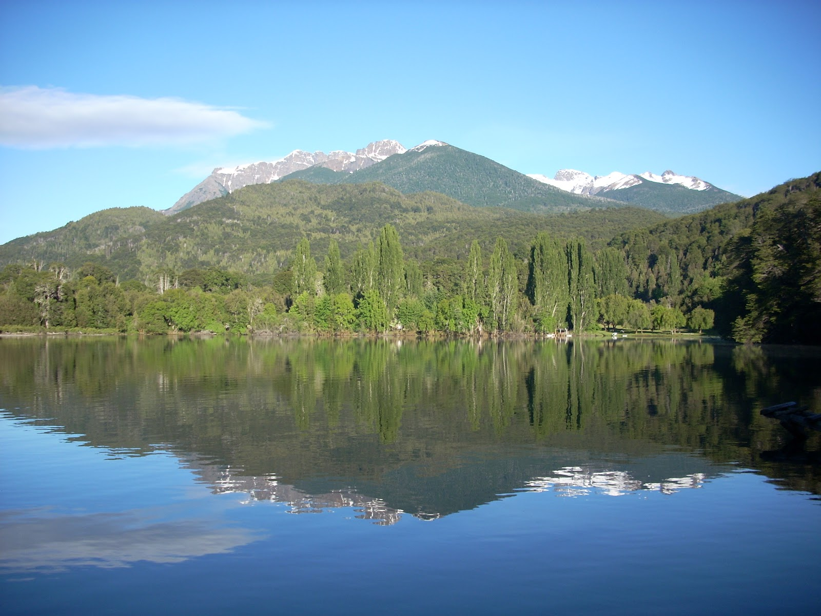 Lago Steffen, view from the tent