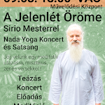 Nada yoga koncert & Satsang | A Jelenlét Öröme Sirio mesterrel