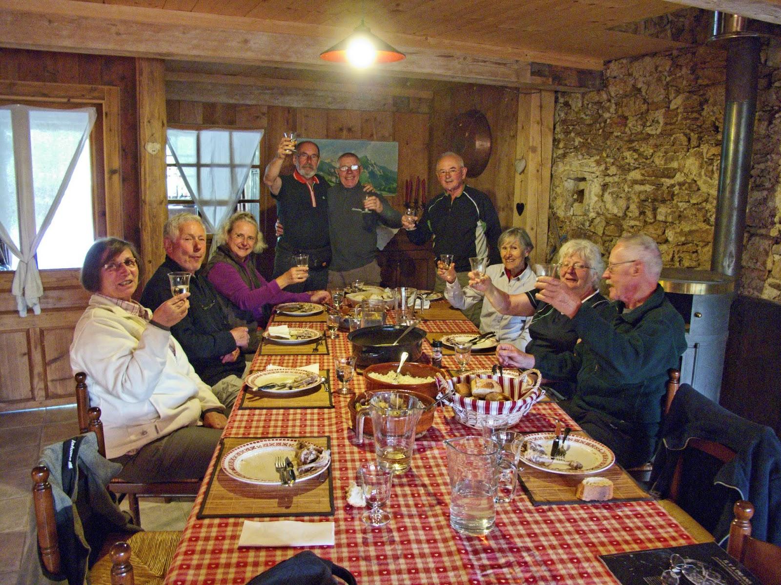 Auberge des Seignes en compagnie de 7 bavarois