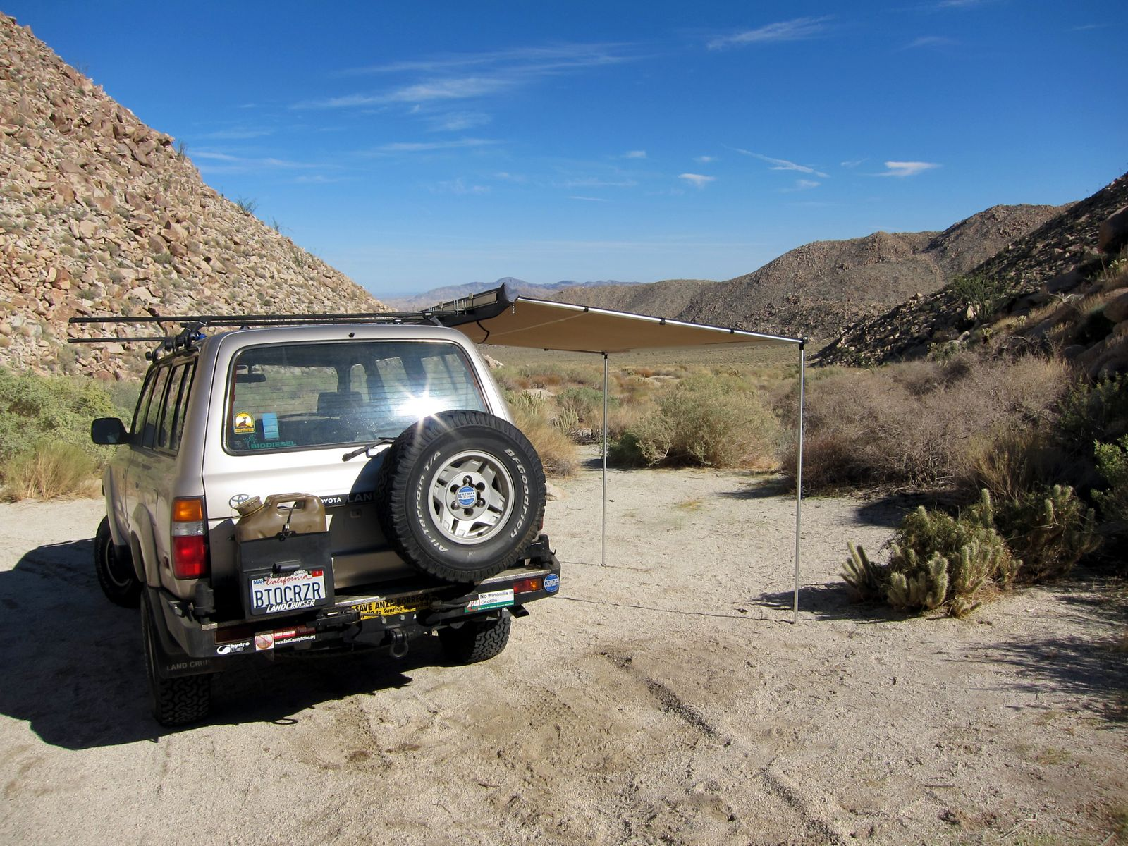 ARB awning will be a great addition to many of our Anza Borrego adventures.