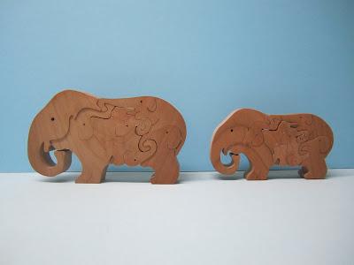 Elephant puzzle 6 Piece
