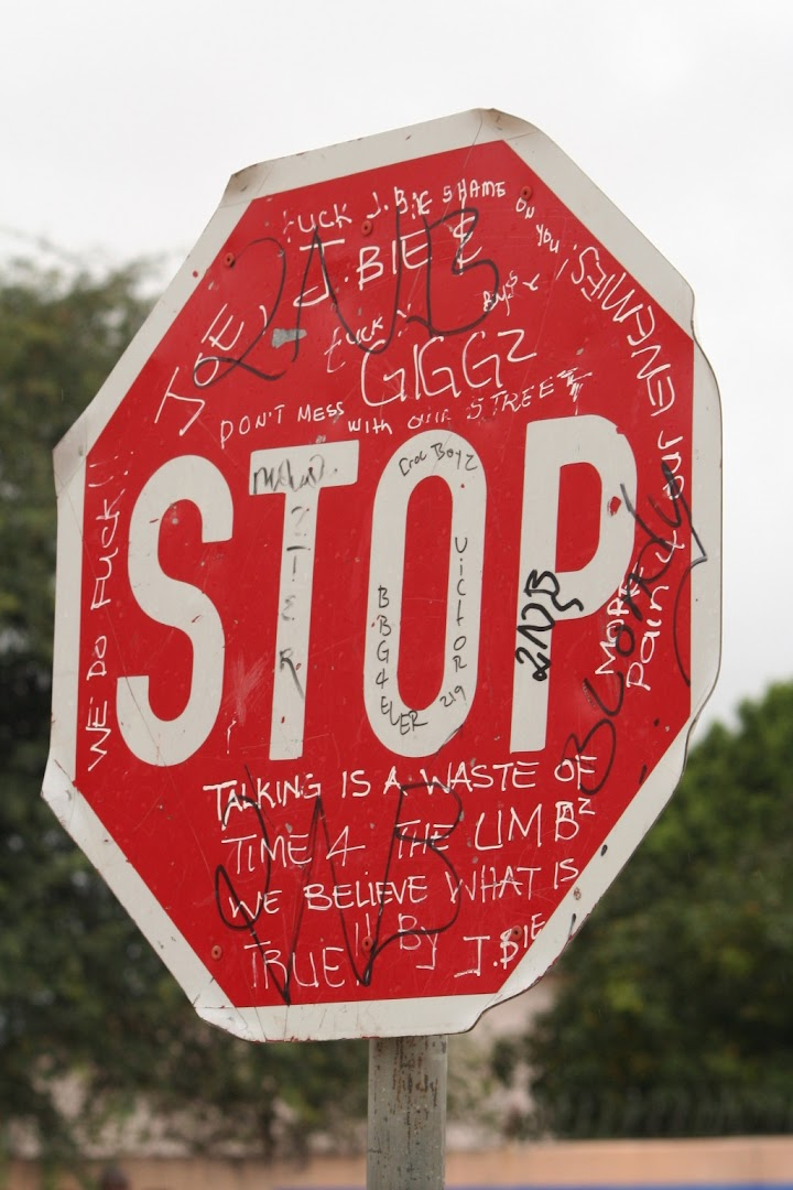 The most verbose stop sign in the World?