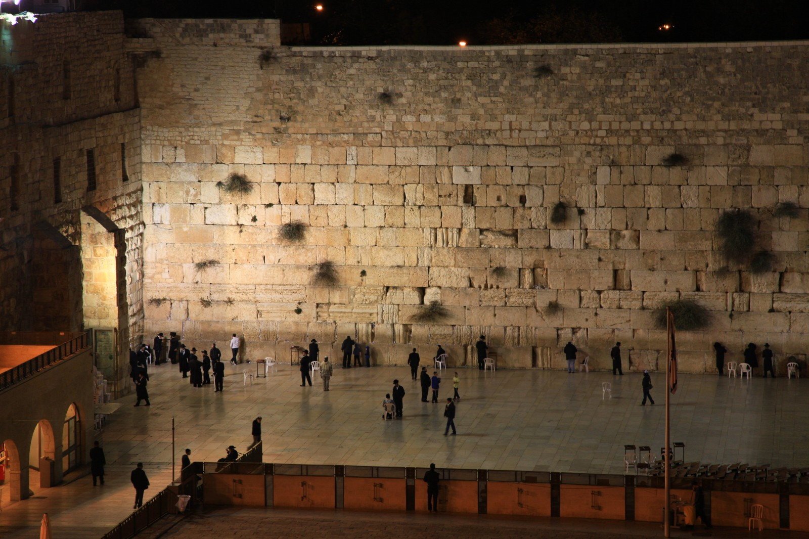 You never get bored watching Jews rocking next to the wall
