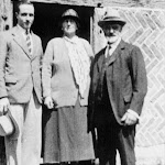 Harry (1870-1943) & Flora Slade (1872-1962) and Ewan Humfrey (1909-2008) at Stocks