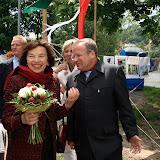 Expozici Pionýra navštivila i paní Klausová