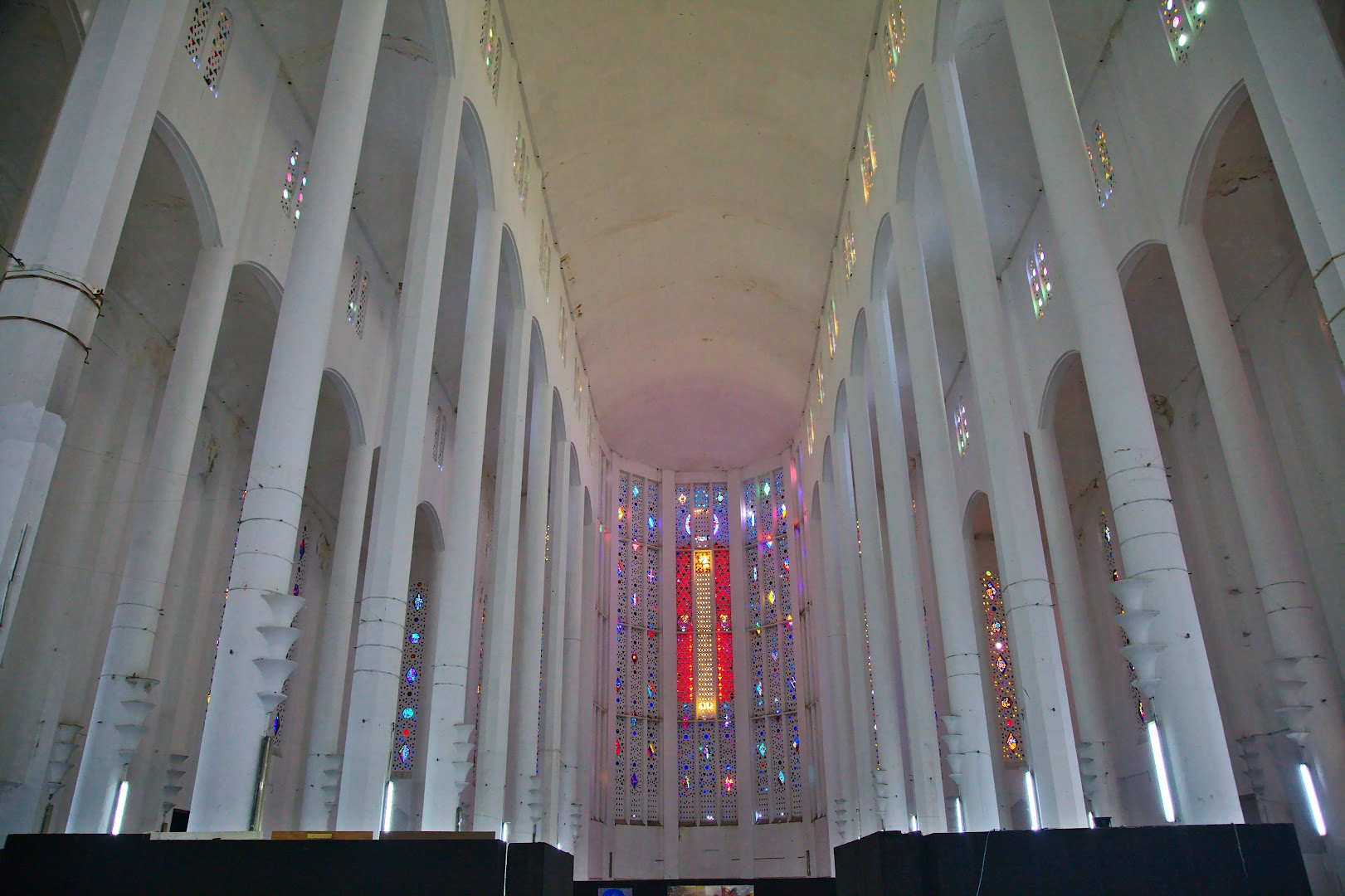 Nowadays the cathedral is used for exhibitions