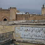 Early morning in Fes, time to go to the airport