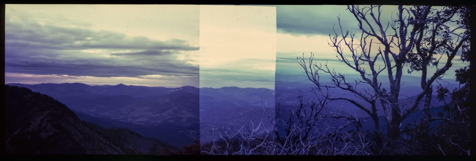 In-camera panorama, Lost Coast, California