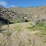 Trail-Head at Hornblende Canyon