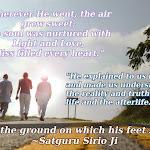 I Love the ground on which His Feet stood ~ Live Satsang with Satguru Sirio Ji (ENGLISH-ITALIANO)