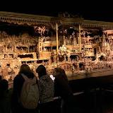 Hlavní atrakce muzea - mechanický 7m veliký vyřezávaný Proboštův betlém