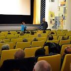 Discussion avant le film russe