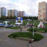 Celkový pohled na prostor před KD Krakov