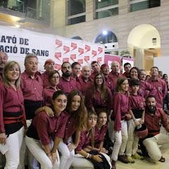Marató de donar sang a la Biblioteca de Lleida 07-10-2015