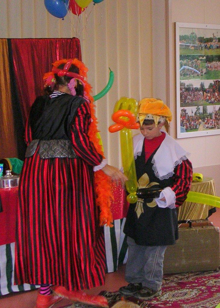 Theatermiddag met Clown  Joepie - Joepie14