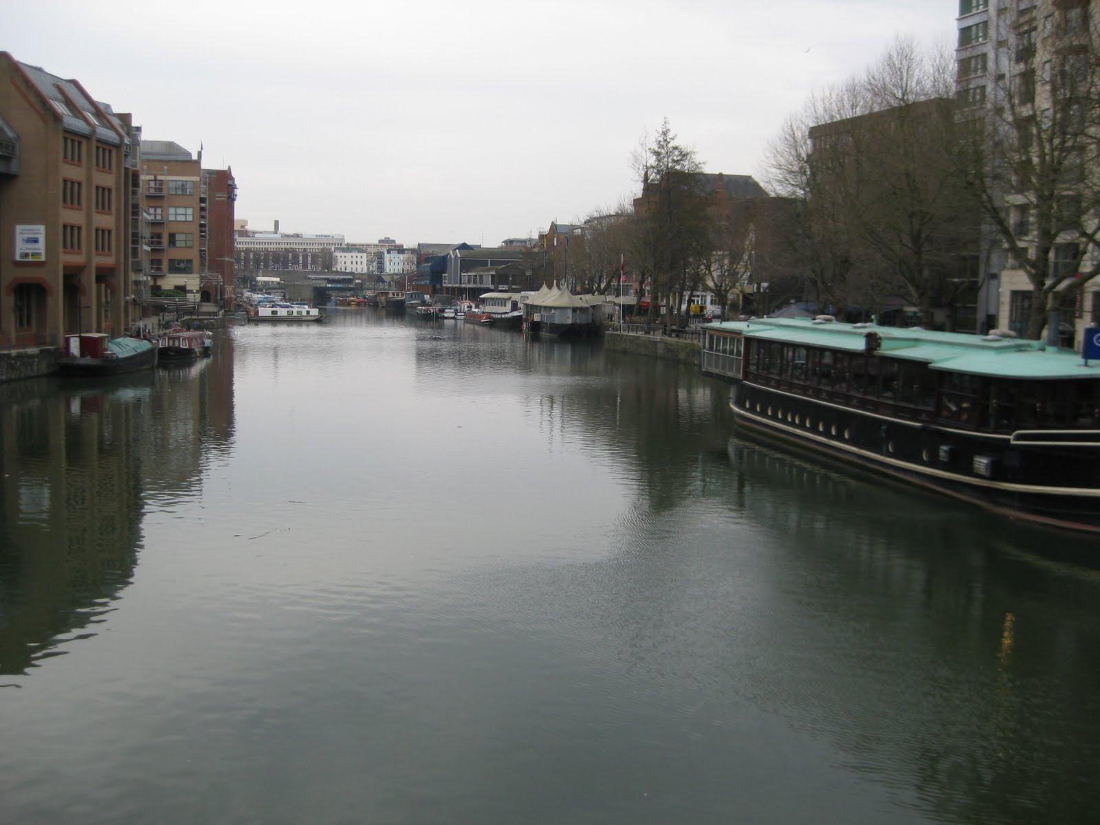 Waterways through Bristol