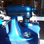 KitchenAid i blå metallic