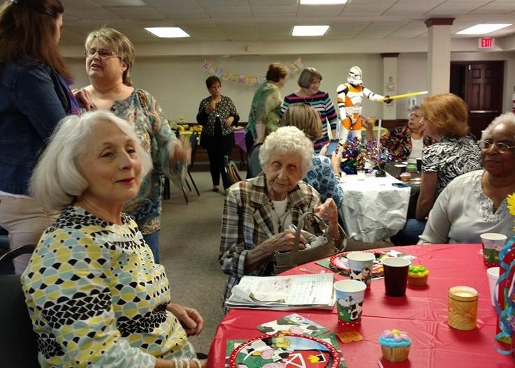 Women's birthday party 2016