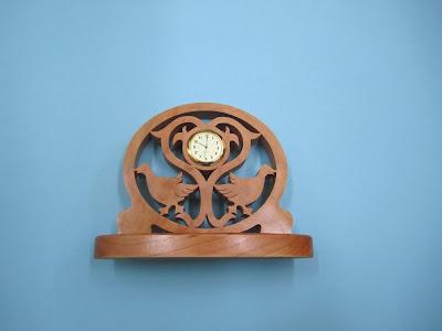 Cherry Duck Clock  from berrybasket.com