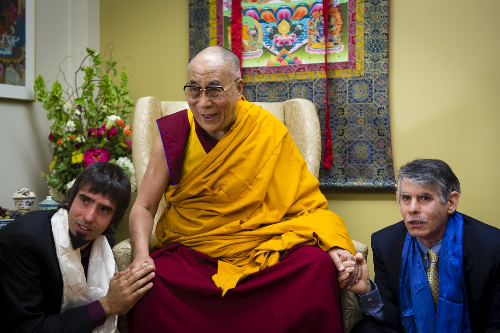 Tenzin Ösel Hita, His Holiness the Dalai Lama and FPMT International Office Director of Operations. Photo by Leah Nash.
