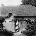 Old thatched cottage Location unknown circa 1933