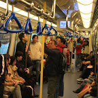 Local trains have no cars - they are like giant worms crawling under the City of Concrete