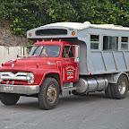 El Camión - a completely non-luxury public transport