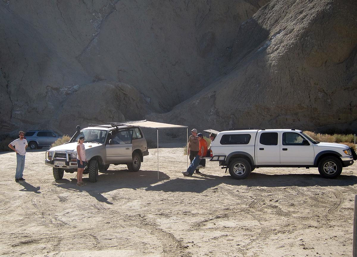 Base camp established. Time to explore