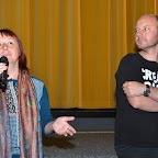 Adeline Stern et le réalisateur Antoine Cattin pour son documentaire PLAYBACK