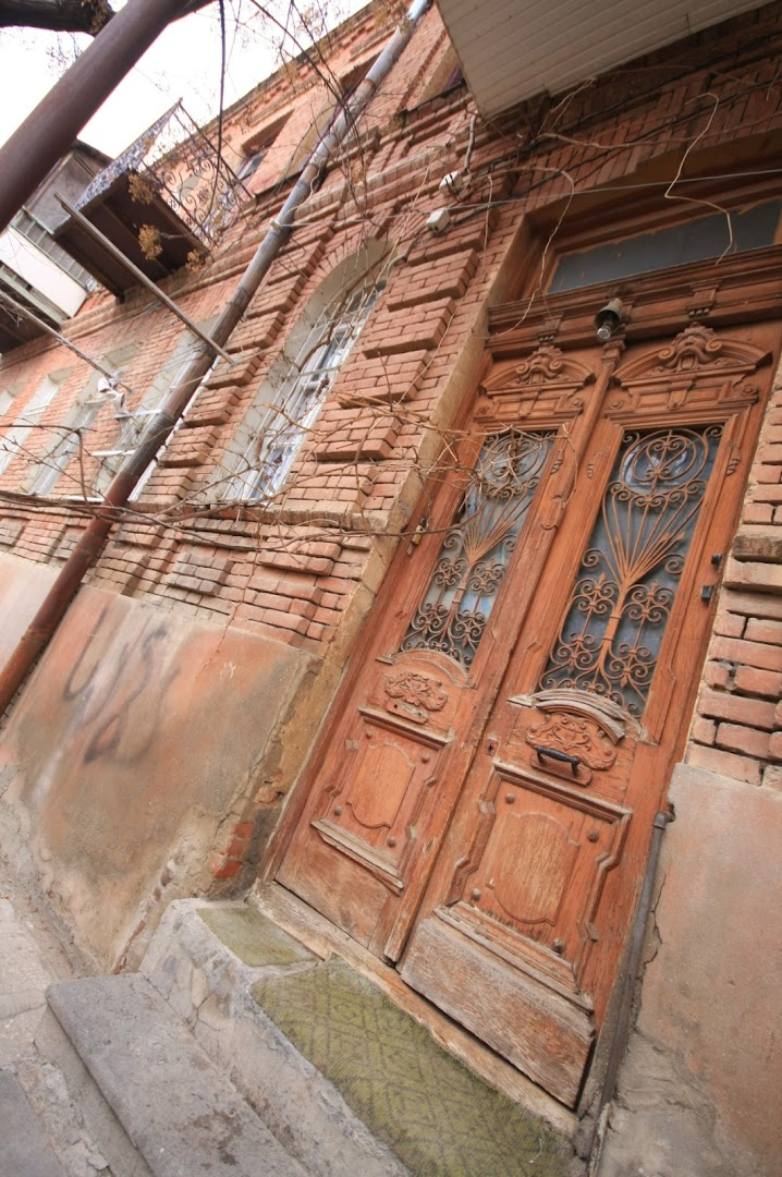 The doors and balconies in Tbilisi are very pretty