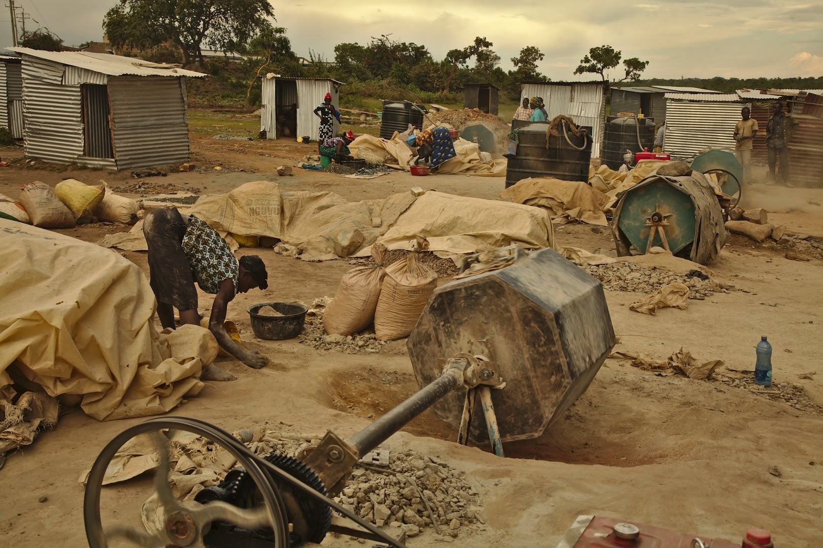 Kenyan gold mine
