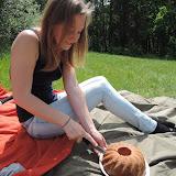 ... a zároveň jsme si udělali menší piknik.