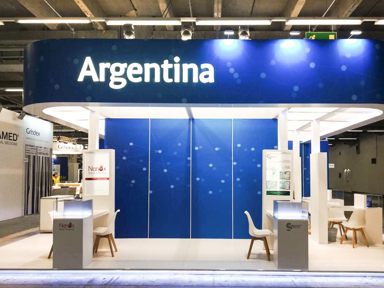 CPHI Frankfurt, Argentina stand 2017