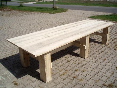 Terrastafel, afm 3.50 x 1.20