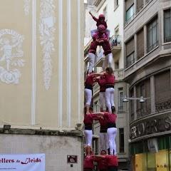 Actuació 20è Aniversari Castellers de Lleida Paeria 11-04-15