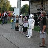 """Kosmonauti účastnící se hry """"Signály z vesmíru"""""""