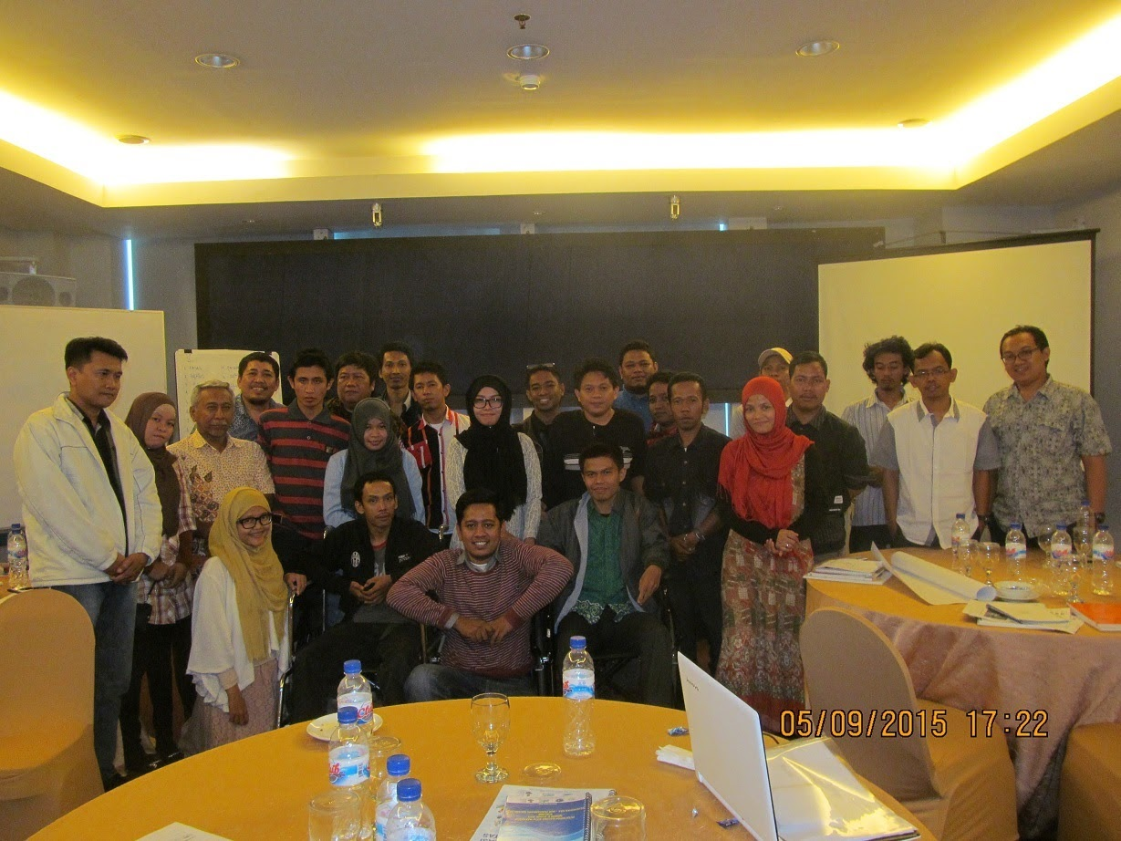AGENDA Media Training in Reporting on Accessible Election - 2015